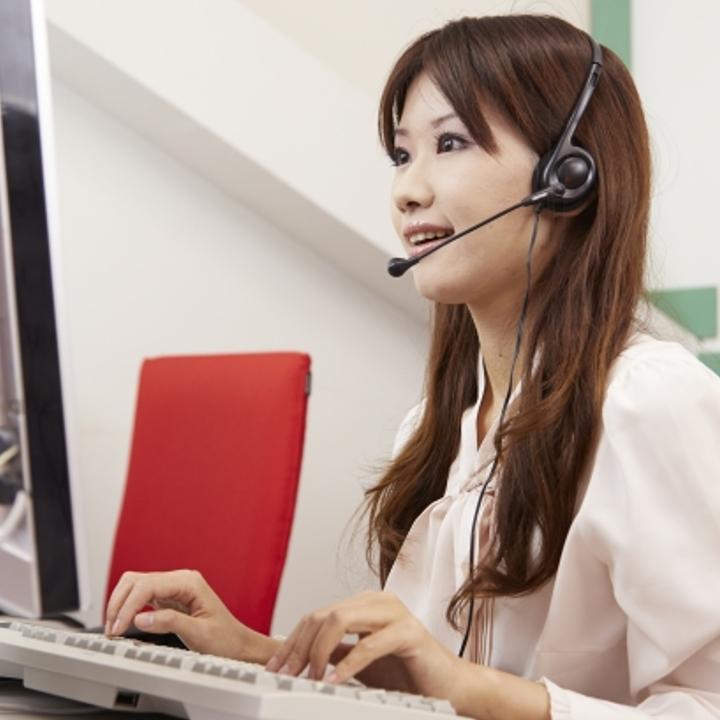 会話力が必要なコールセンタースタッフ